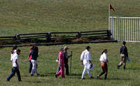 02 - Walking the field for the Junior Field Master's Chase