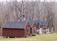 07 - The cabins in winter time