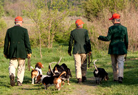 01 - Ashland Bassets head out for the 3-couple trial