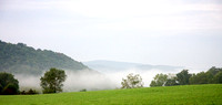 01 - Mist off the Shenandoah River and Snickers Gap
