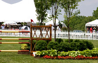 03 - Elaborate plantings for the Grand Prix jumps